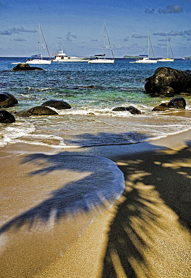 Caribbean Sea Photograph - Virgin Gorda Beach by Dennis Cox WorldViews