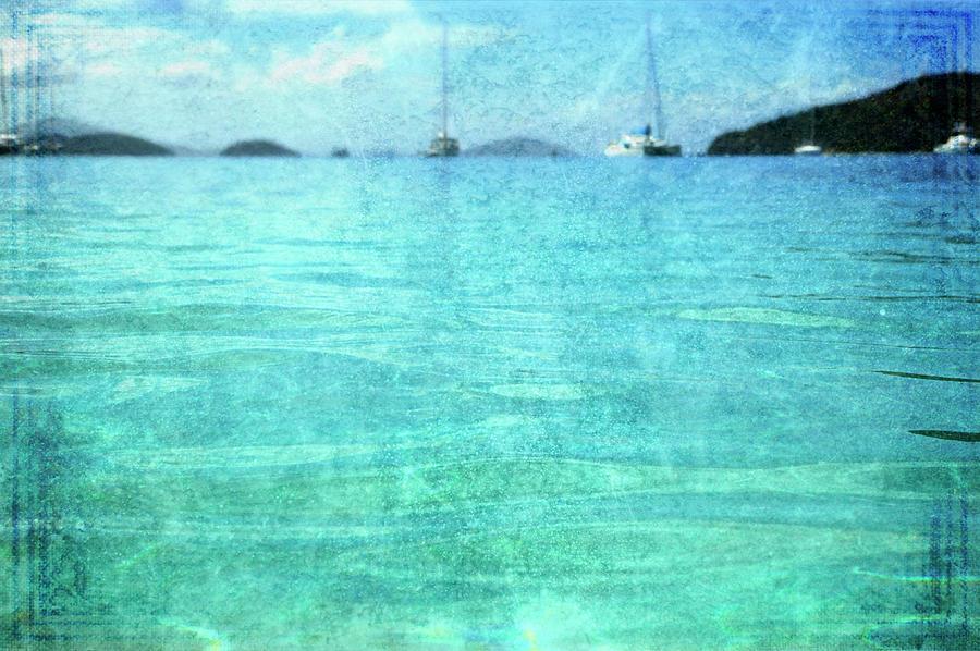 Virgin Islands Blues Photograph by Guy Crittenden