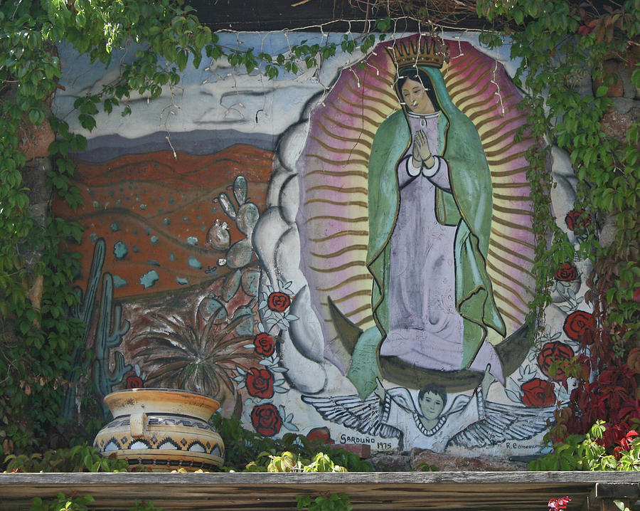Virgin of Guadalupe in Northern New Mexico by Elizabeth Rose