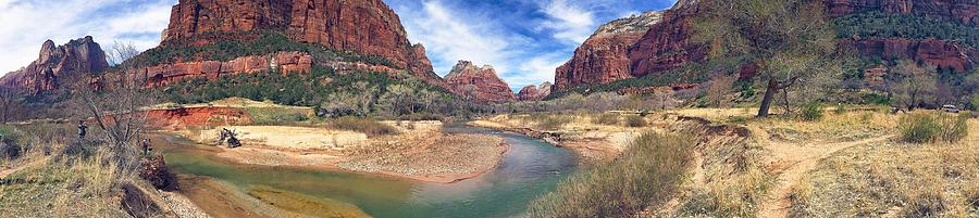 Virgin River Bend Photograph by Scott Waters