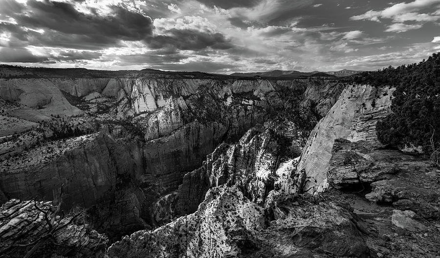 Utah Photograph - Virgin River Canyon, Zion National Park by Michael Balen