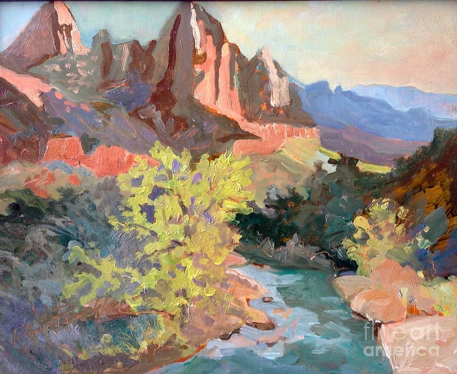 Virgin River/ Watchman View by Diane Renchler