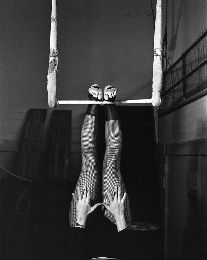 Acro Photograph - Virginia by A paul Cartier
