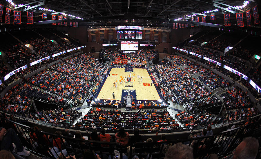John Photograph - Virginia Cavaliers John Paul Jones Arena by Replay Photos