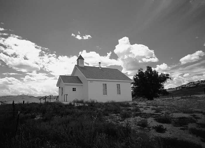 Church Photograph - Virginia Dale Colorado by Susan Chandler
