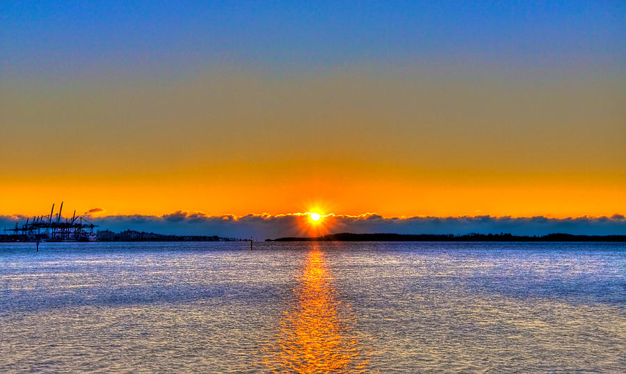 Miami Photograph - Virginia Key Sunrise by William Wetmore
