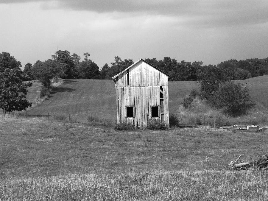 Shed Photograph - Virginia Shed by Michael L Kimble
