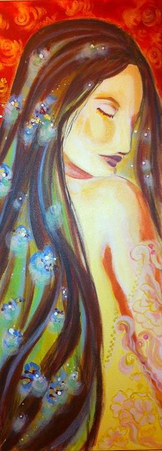 Virgo Painting - Virgo Grace by Yvonne Payne