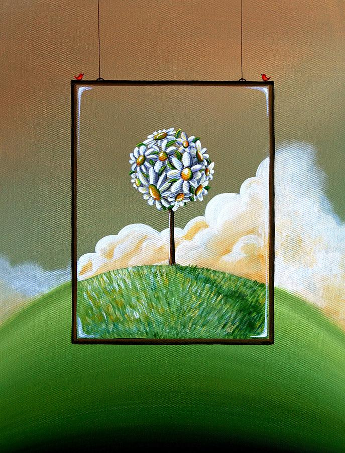Tree Painting - Virtue by Cindy Thornton