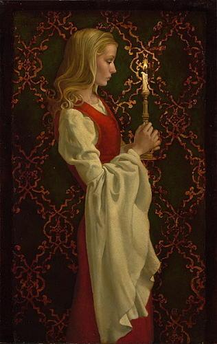 Virtue Digital Art by James Christensen