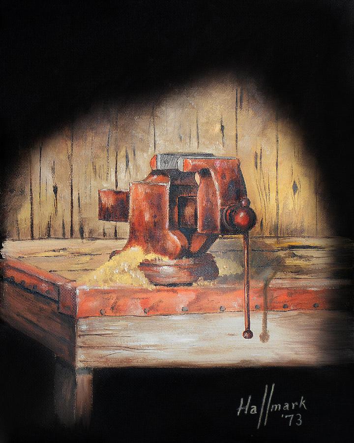 Bob Hallmark Painting - Vise by Bob Hallmark