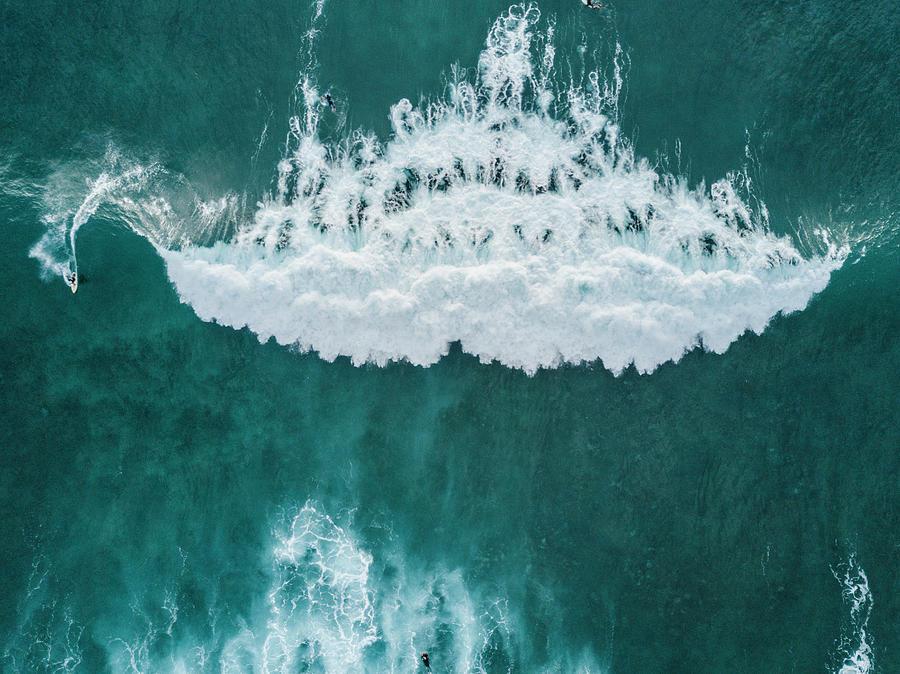 Adventure Photograph - Big Wave, Tenerife, Canary Islands by Sergio Villalba
