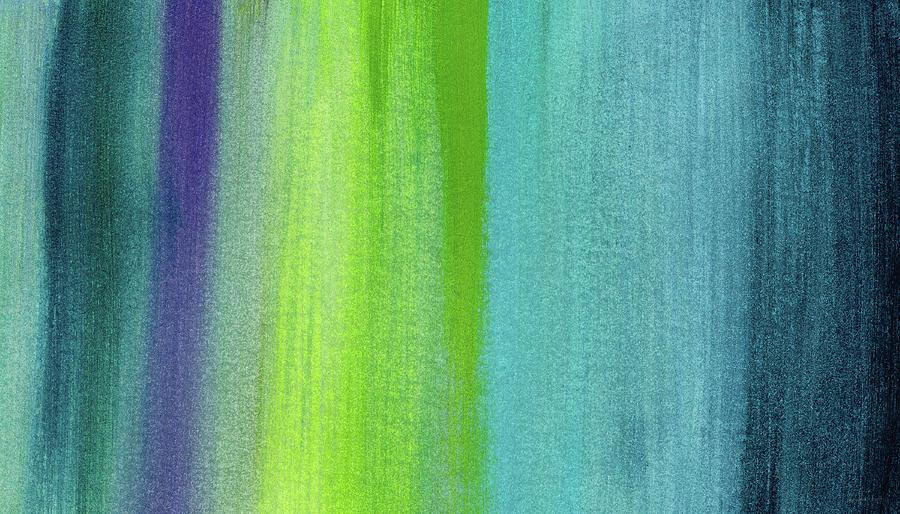 Abstract Painting - Vishnu- Art by Linda Woods by Linda Woods