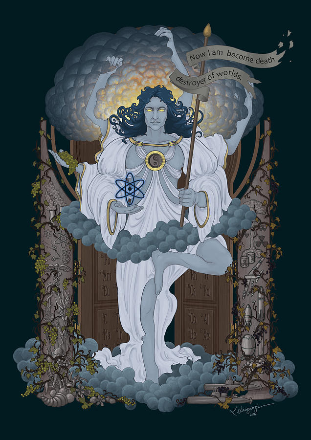 Vishnu - Nuclear by Cassiopeia Art