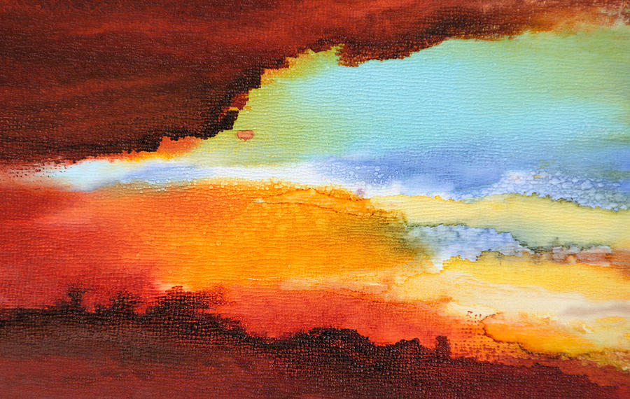 Abstract Painting - Visible Love - A - by Sandy Sandy