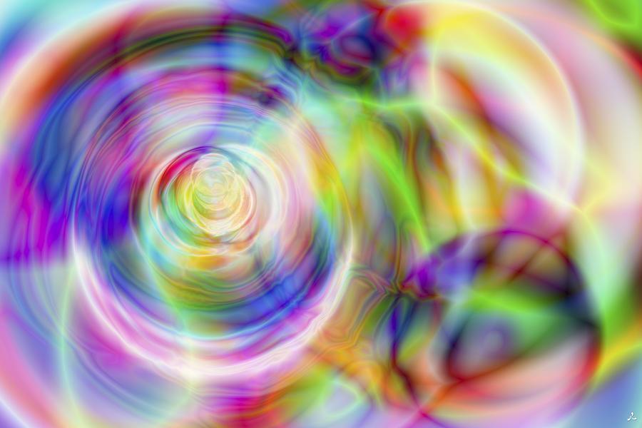 Crazy Digital Art - Vision 7 by Jacques Raffin