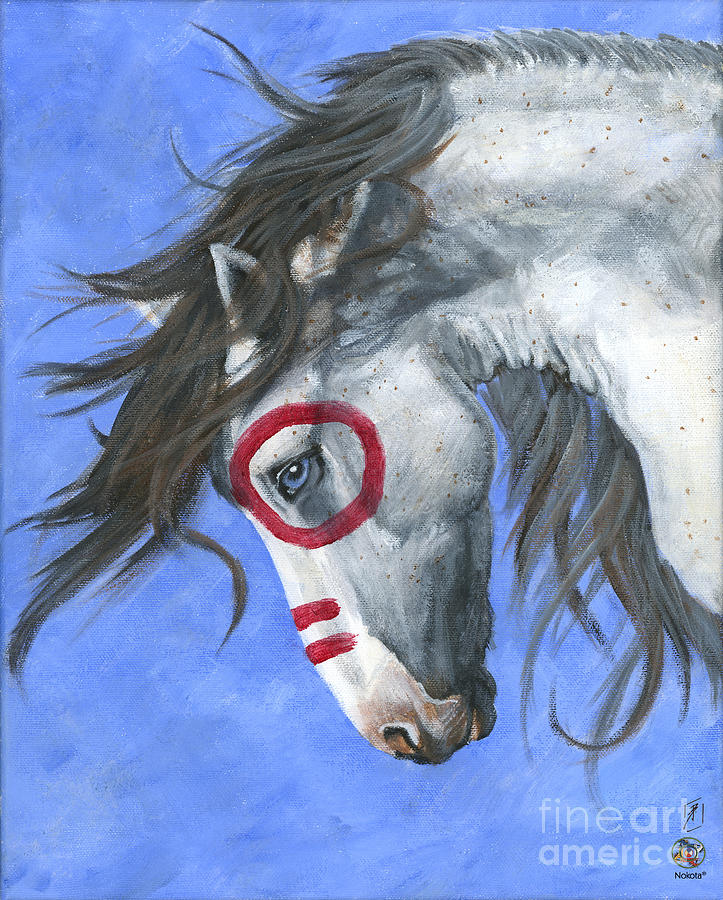 Horse Painting - Vision by Brandy Woods