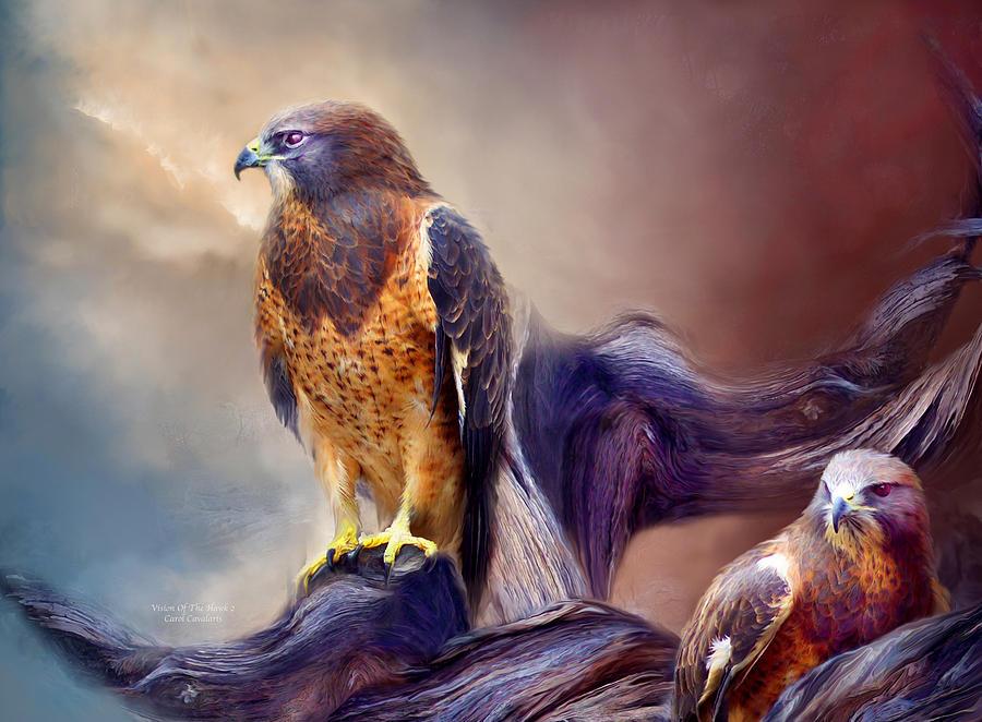 Vision Of The Hawk 2 by Carol Cavalaris