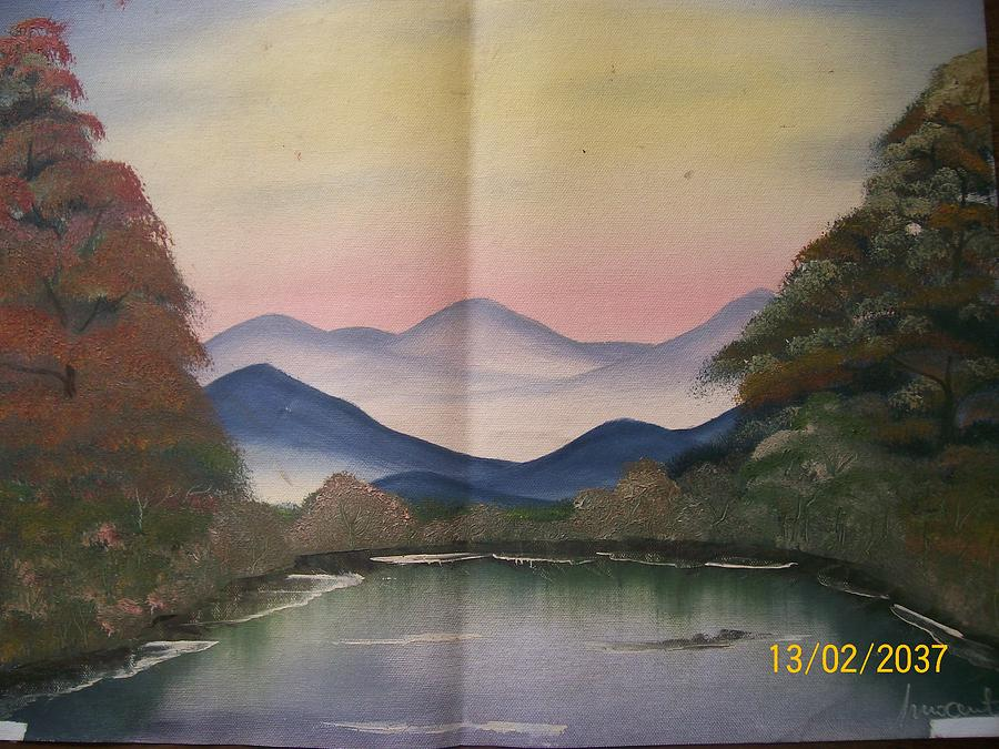 Landscape Painting - Vision by Wafula Innocent