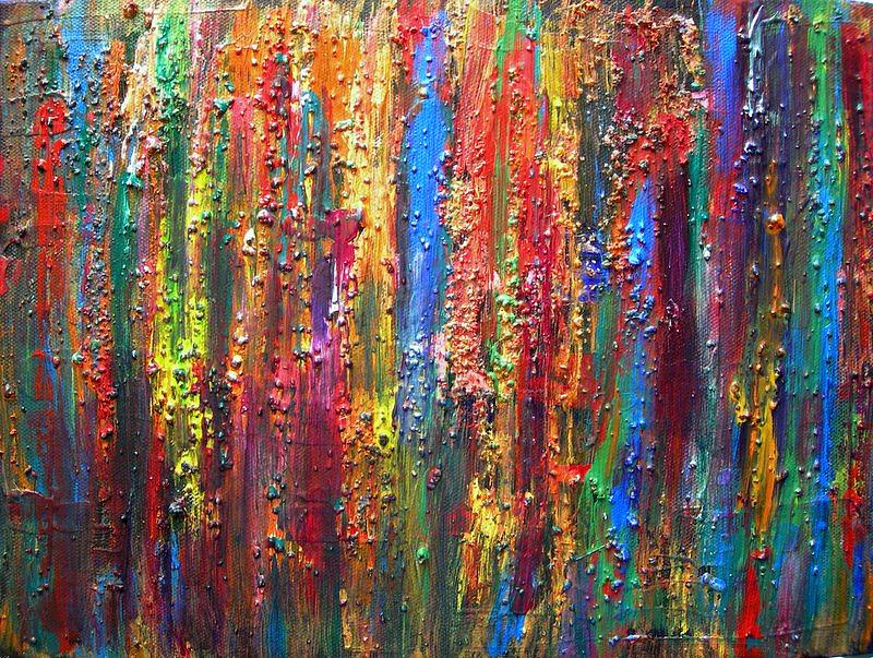 Abstract Painting - Visions by Kerry Smith