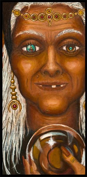 Fantasy Digital Art - Visions by Roz Eve