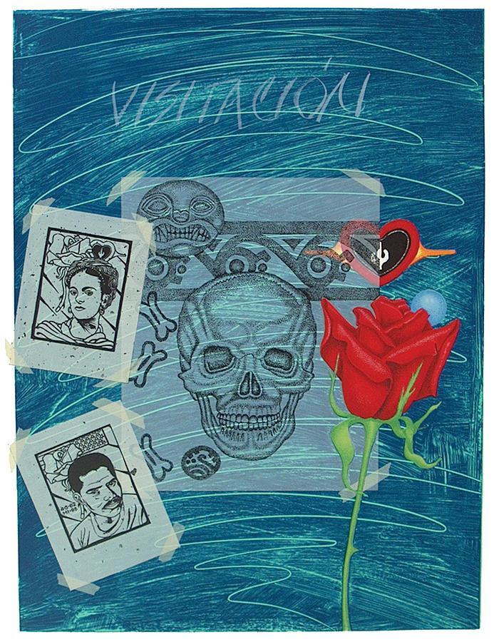 Serie Print - Visitation Modern Heroes by Rudy Fernandez