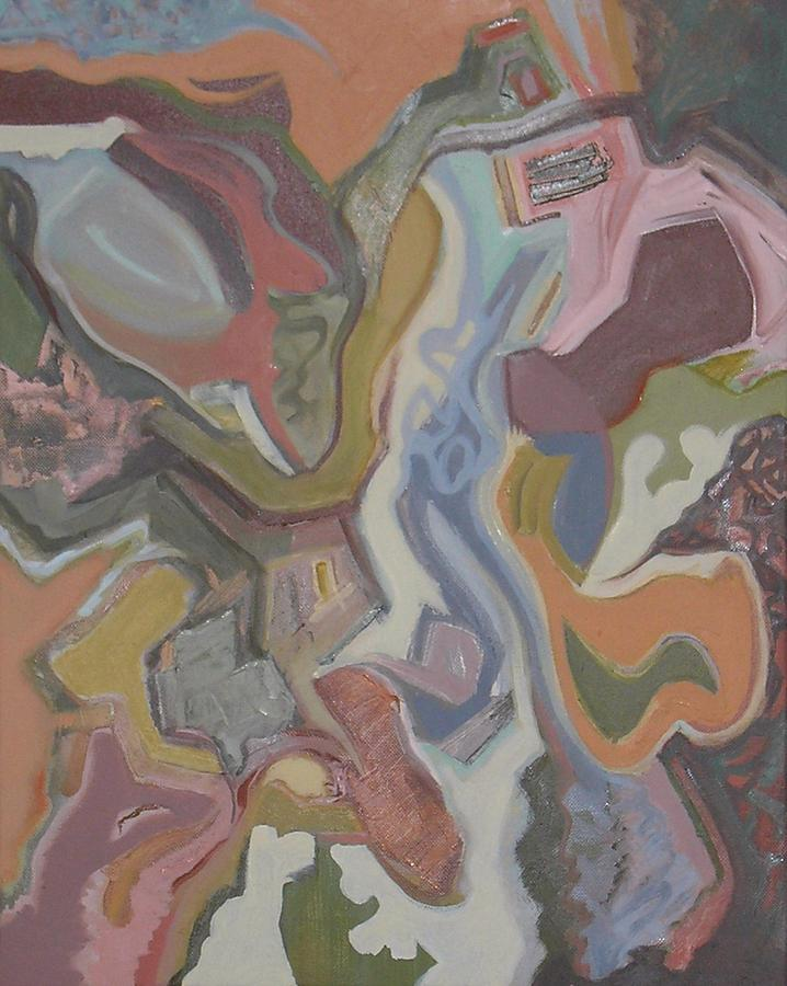 Contemporary Painting - Visual Jazz #20 by Philip Rader