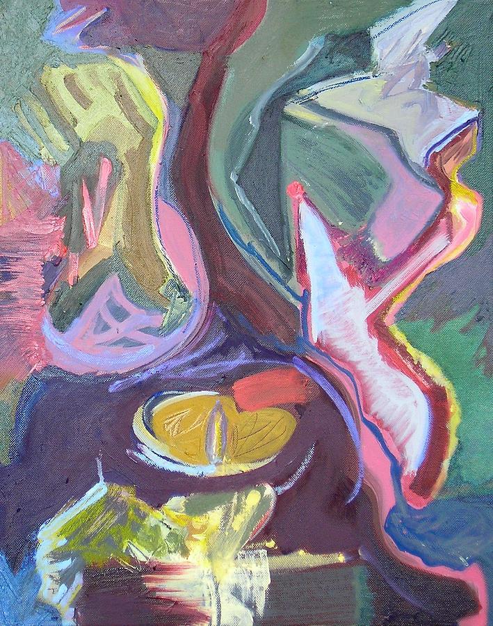 Contemporary Painting - Visual Jazz #21 by Philip Rader