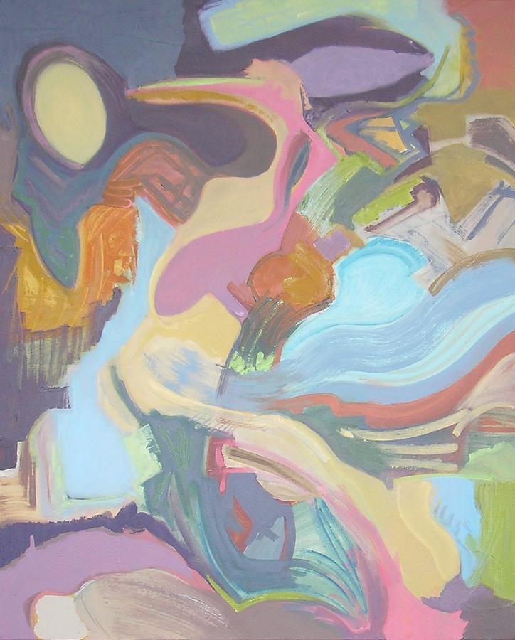 Contemporary Painting - Visual Jazz #22 by Philip Rader