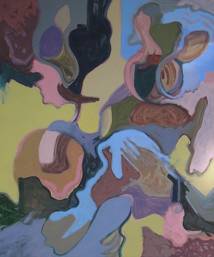 Contemporary Painting - Visual Jazz #23 by Philip Rader