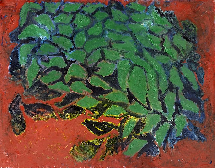 Red Painting - Vitanoah by Joan De Bot