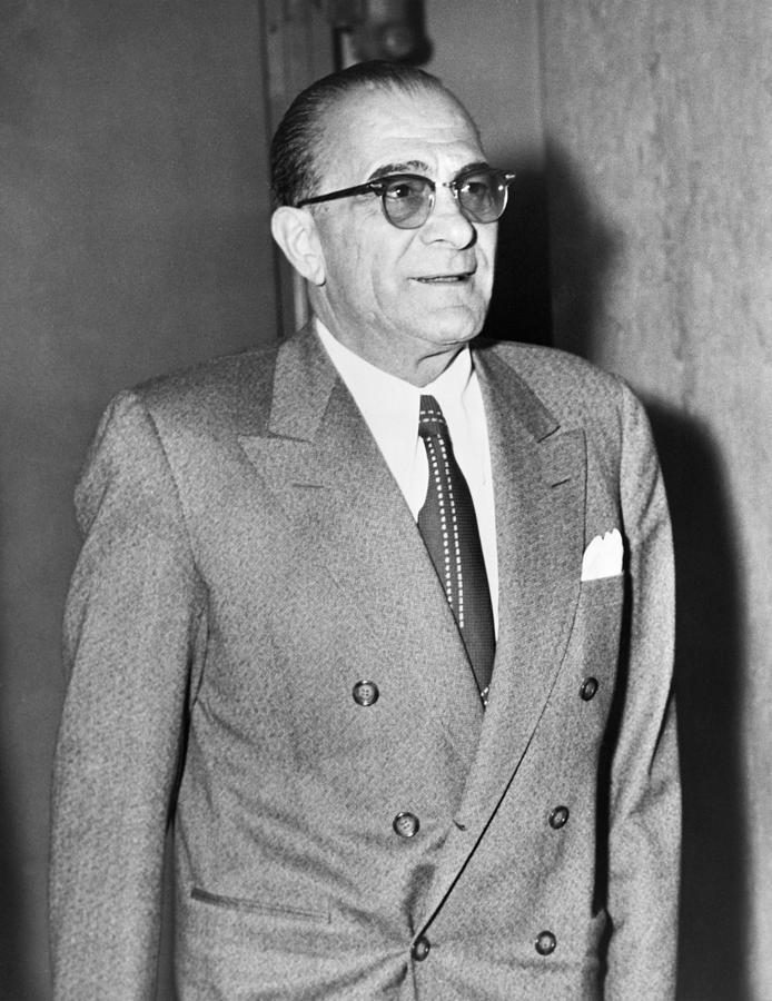 History Photograph - Vito Genovese 1897-1969, Boss by Everett