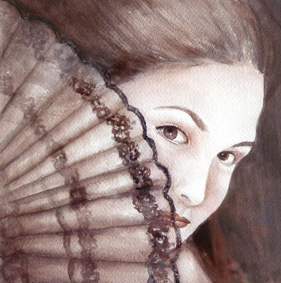 Female Painting - Viva La Fiesta by Dorothy Nalls