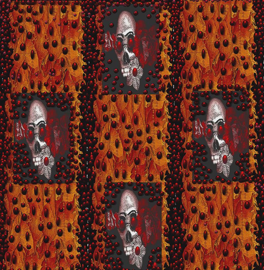 Skulls Mixed Media - Viva La Revolution by Pepita Selles