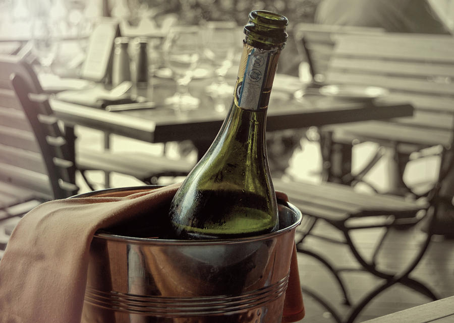 Champagne Photograph - Viva Lamour Chill To Taste by JAMART Photography
