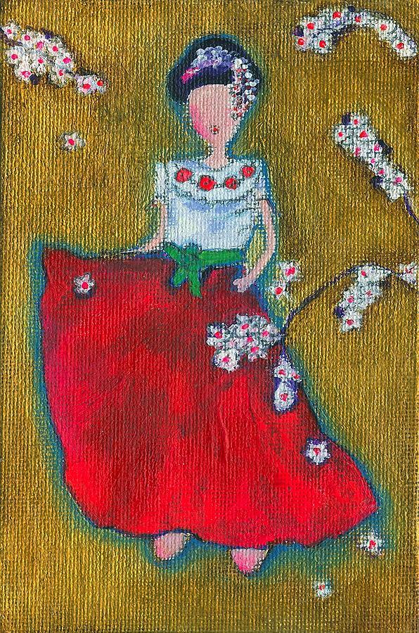 Japanese Painting - Viva Sakura by Ricky Sencion