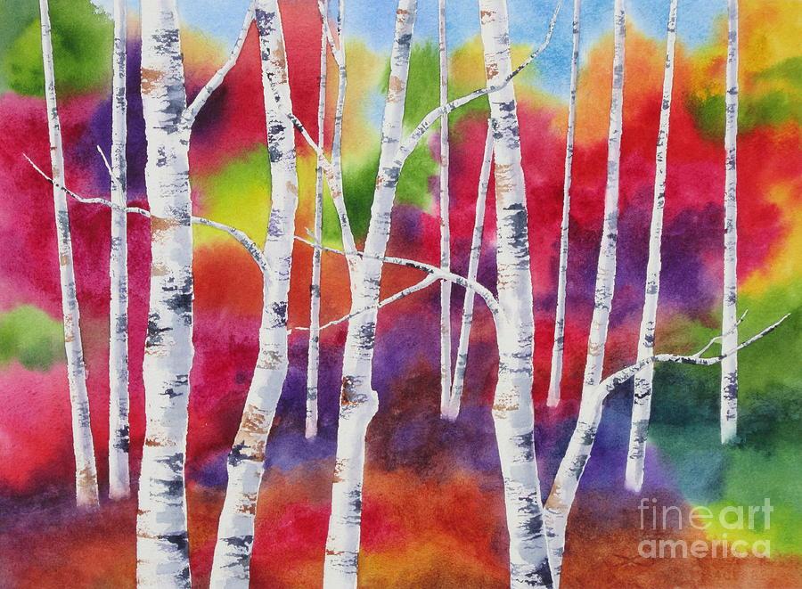 Autumn Painting - Vivid Autumn by Deborah Ronglien
