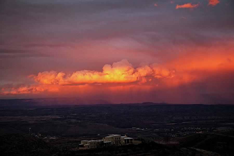 Vivid Verde Valley Sunset by Ron Chilston