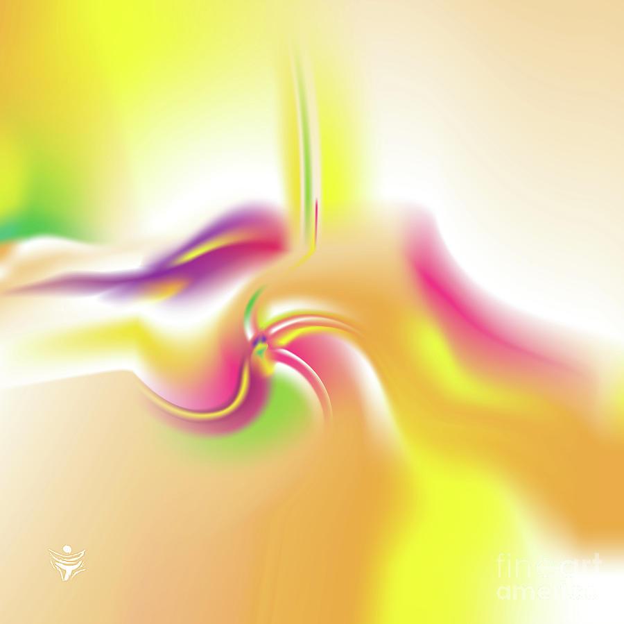 VIVIDAEE - Abstract Art Print - Fantasy - Digital Art - Sea Flower - Fine Art Print by Ron Labryzz