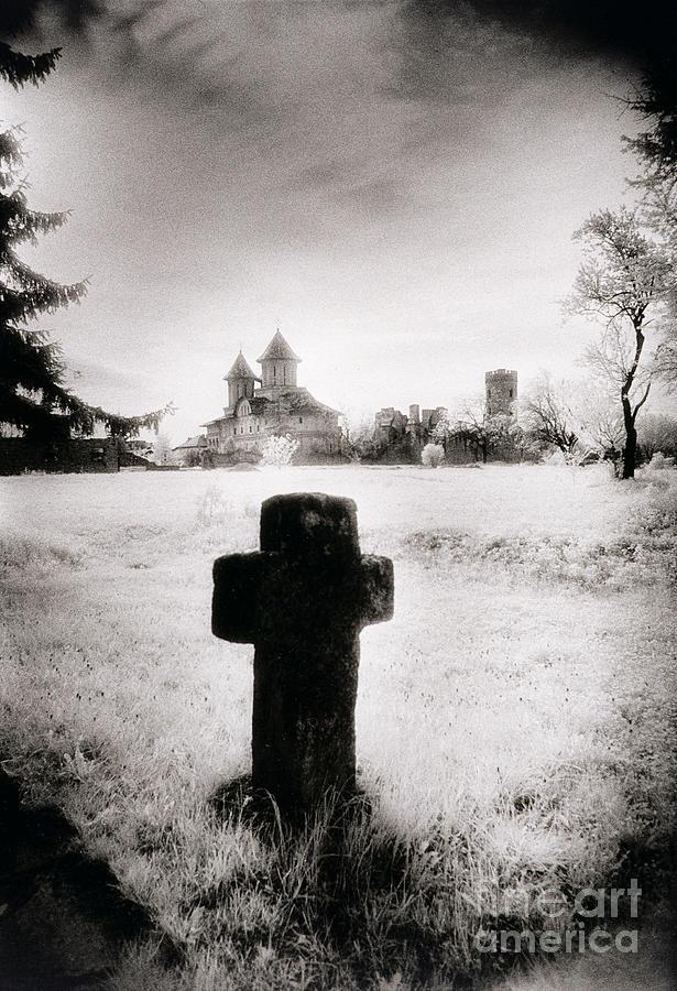 Atmosphere Photograph - Vlad Draculas Palace by Simon Marsden