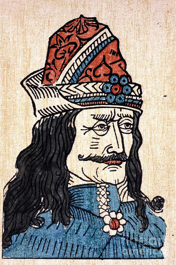 15th Century Photograph - Vlad IIi (1431-1477) by Granger