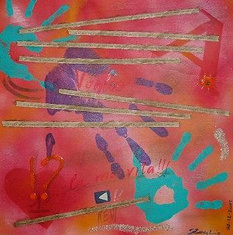 Voglio Painting by Stefano Zocchio