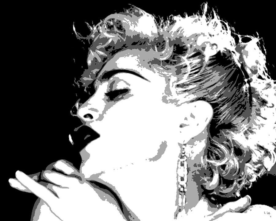 Madonna Painting - Vogue by Dan Carman