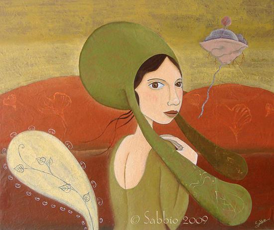 Voies De La Nature Painting by Sabbio B