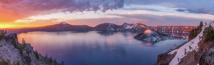 Volcanic Sunrise Photograph