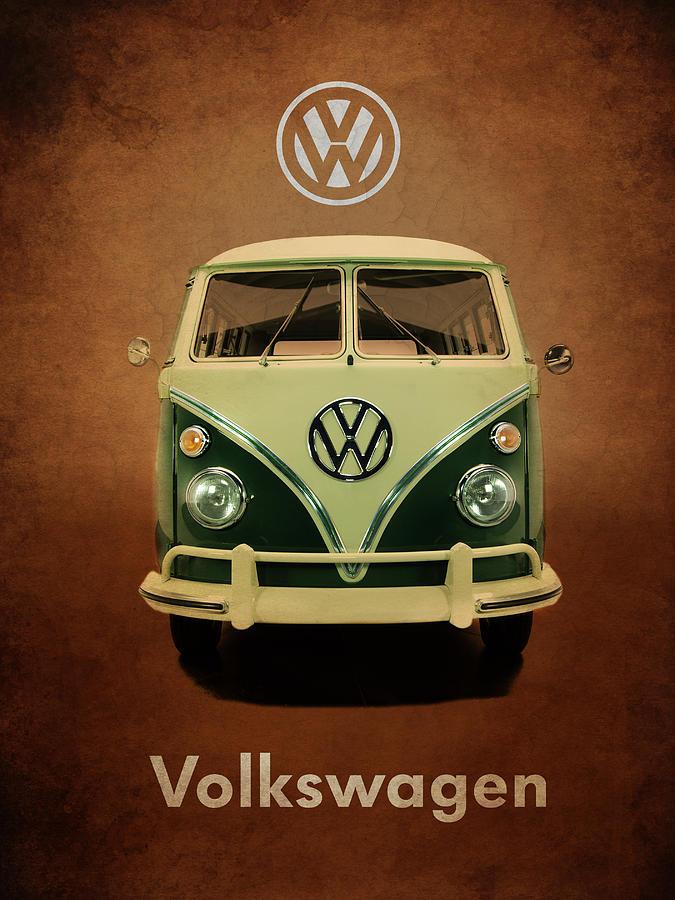 Volkswagen Photograph - Volkswagen T1 1963 by Mark Rogan