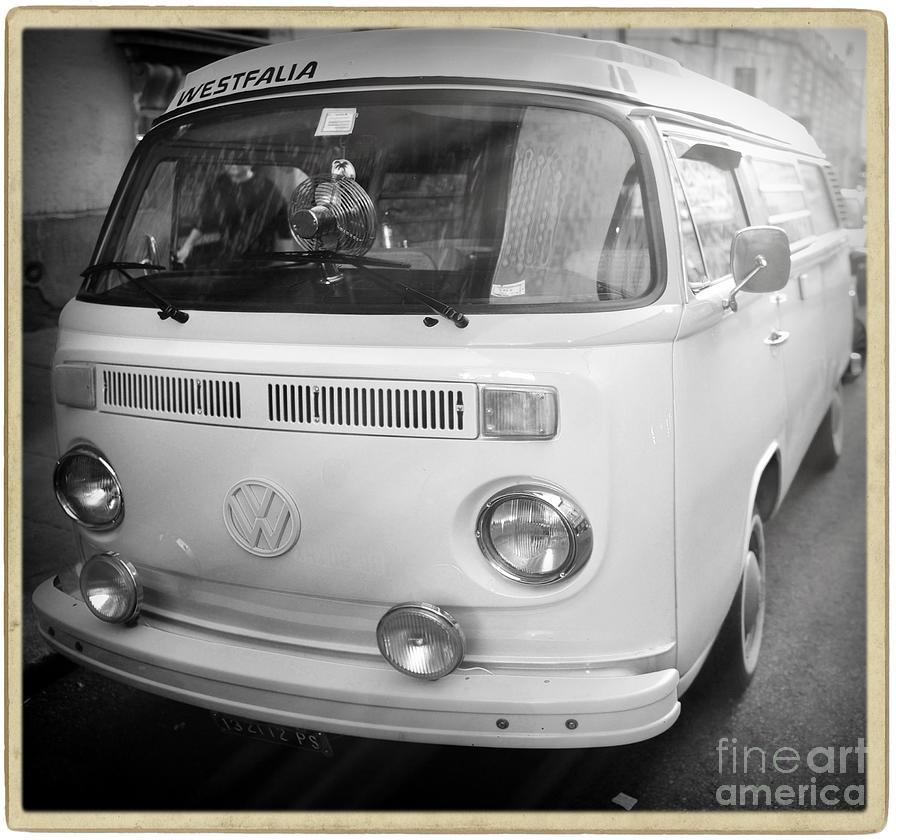 Volkswagen Photograph - Volkswagen Westfalia Camper by Stefano Senise
