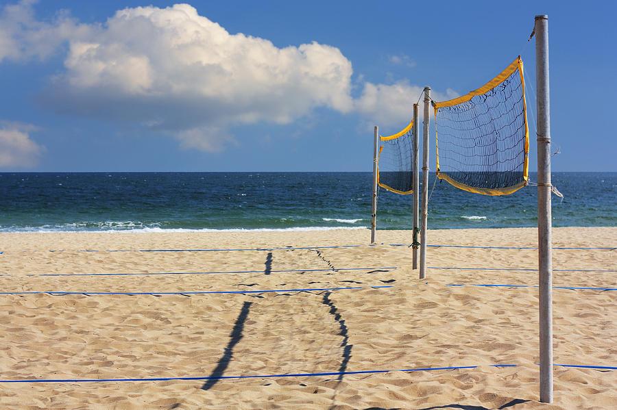 Alone Photograph - Volleyball Net by Boyan Dimitrov
