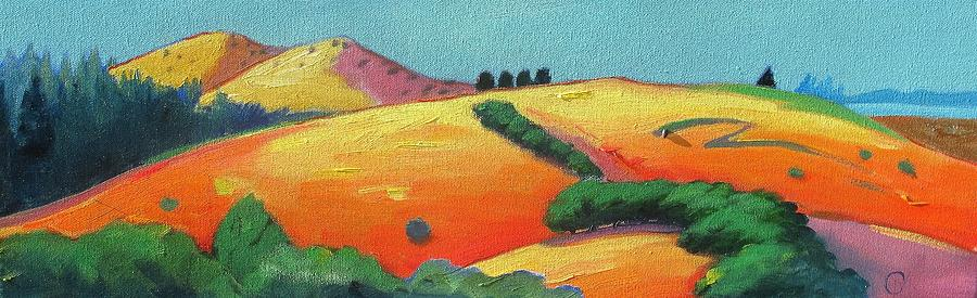 Voluptuous Windy Hill Painting