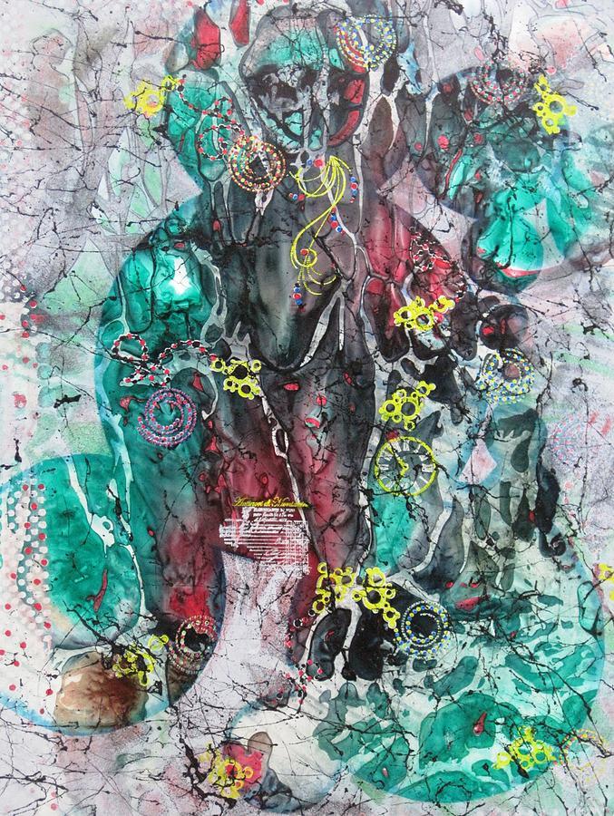 Voo Doo Painting - Voo Doo Magic by David Raderstorf
